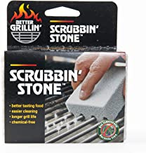 Compac s Magic-Stone Grill Cleaner Scrub - Scouring Brick/Barbecue Grill Brush/Barbecue Cleaner-Advanced Green Technology Easily Removes Stubborn Grime, Grease, from BBQ Grills, Griddles, Racks (1)