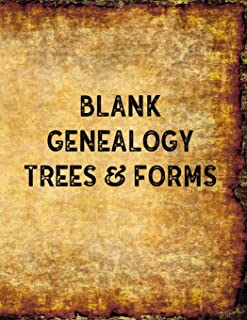 Blank Genealogy Trees & Forms