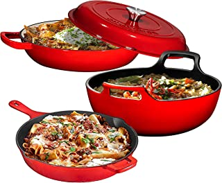 Best cast iron skillet with grooves Reviews