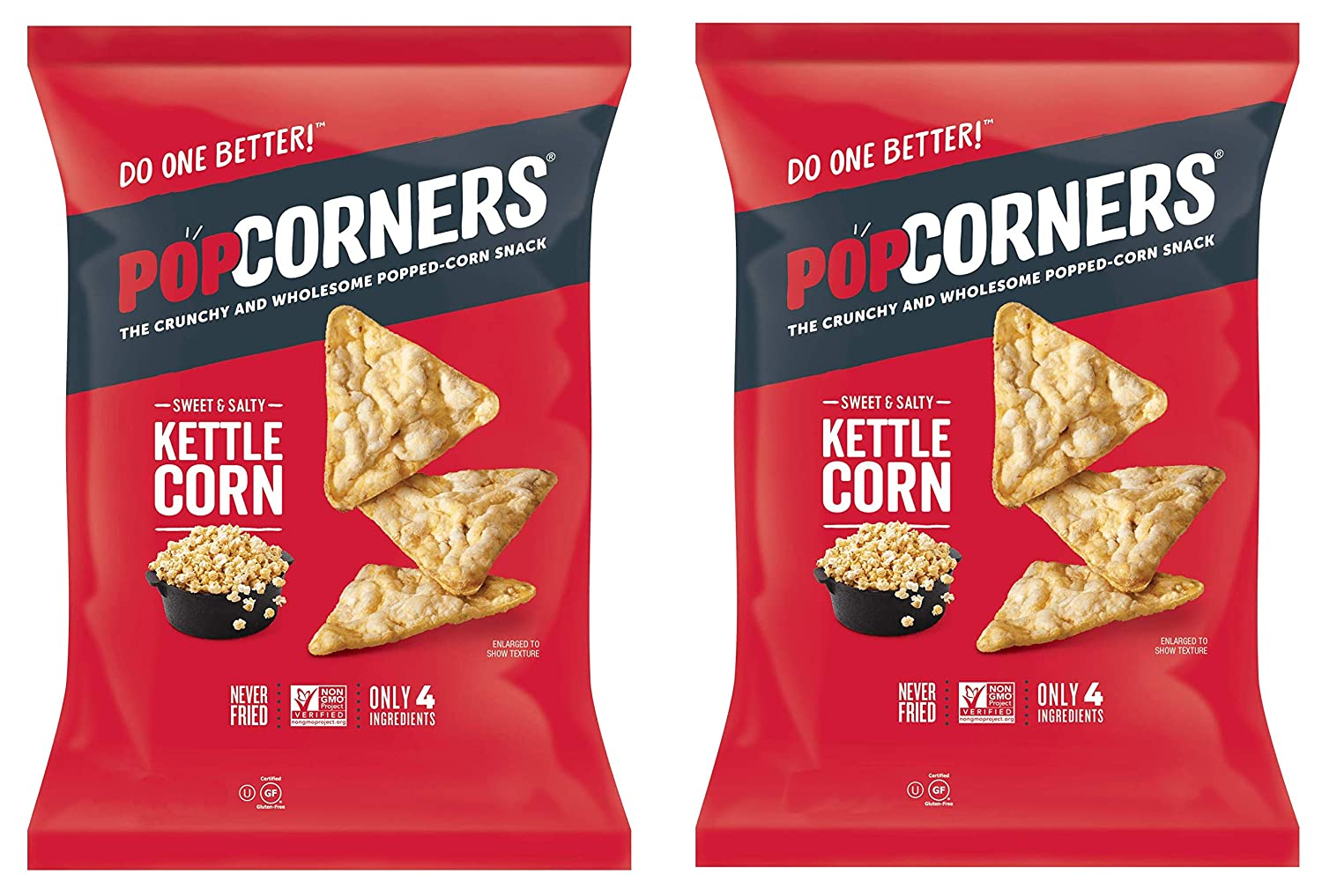 PopCorners PopCorn Snack Chips Pack Max 71% OFF of Sweet Bags San Francisco Mall 2 Sal 5oz and