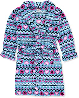 SWEET N SASSY Girls' Plush Bath Robe