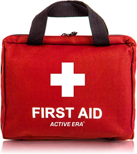 Active Era Small First Aid Kit - All-Purpose 90 Pieces First Aid Kit for Camping and Hiking with Medical Supplies and...
