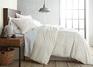 Southshore Fine Living, Inc. The Vilano Choice Collection 3-Piece Reversable Printed Duvet Cover Set, King/California King, Soft Floral Perfect Cream