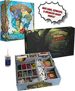 Spirit Island + Branch & Claw Expansion + Fitted Evacore Insert Organizer + Golden Groundhog Glue - Board Game Bundle!