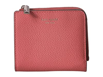 Kate Spade New York Margaux Small Bifold Wallet (Peachy) Bi-fold Wallet