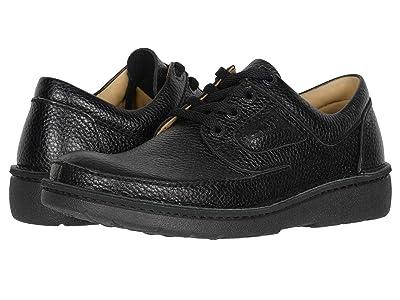 Clarks Nature II (Black Grained Leather) Men