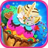 Unicorn Ice Cream & Frozen Desserts - Kids Ice Cream Maker Games FREE