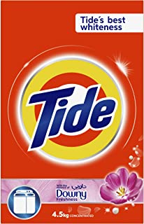 Tide Powder Laundry Detergent, With the Essence of Downy Freshness, 4.5 KG