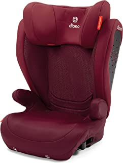 Diono Monterey 4 DXT Latch, The Original Expandable Booster Seat (40-120 lbs.), Plum