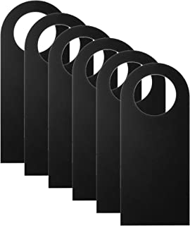 CM Cosmos Pack of 6 Blank Two-Sided Door Knob Sign Hanger for Home Office Hotel Decoration & Sign