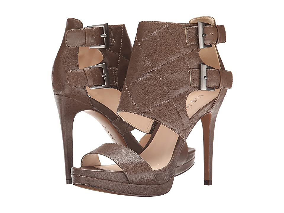 Nine West Brakedance (Grey Leather) High Heels
