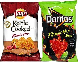 NEW Flamin' Hot Super Pack Doritos Flamin Hot & Lay's Flamin' Hot Kettle Cooked (2)