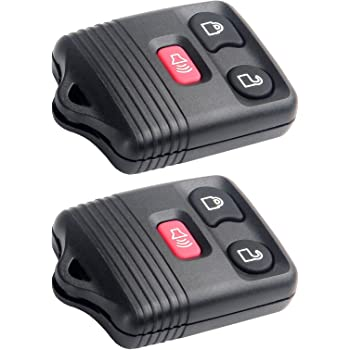ECCPP Replacement fit for Keyless Entry Remote Control Car Key Fob Shell Case Lincoln Ford Mercury Mazda Series CWTWB1U212 Pack of 1