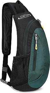 G4Free Leichte Brusttasche Sling Schulter Rucksäcke Nette Umhängetasche Dreieck Pack Rucksack zum Wandern Radfahren Reisen...