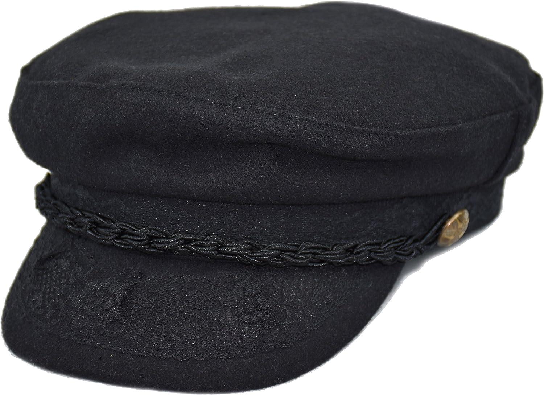 Deewang Men's Wool Greek Max 44% OFF Fisherman New Shipping Free Shipping Hat Sailor Newsboy Ca Fiddler
