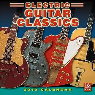 Electric Guitar Classics 2019 Wall Calendar