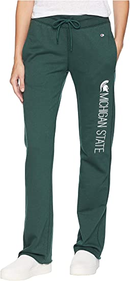Michigan State Spartans University Fleece Open Bottom Pants