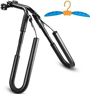 Norker Surfboard Bike Rack, Surf Rack for Bike - Bonus Wetsuit Hanger - Bike Surf Rack - Adjustable Surfing Rack for Short...