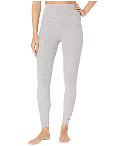 Beyond Yoga Spacedye Set The Bar High-Waisted Midi Leggings (Silver Mist) Women