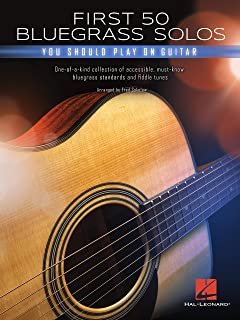 First 50 Bluegrass Solos You Should Play on Guitar (English Edition)