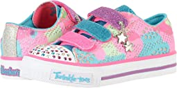SKECHERS KIDS - Twinkle Toes - Shuffles 10760L Lights (Little Kid/Big Kid)