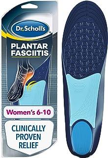- Scholl's Semelle orthopédique pour le soulagement des douleurs, pour le traitement de la fasciite plantaire pour femmes,...