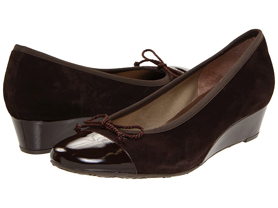 French Sole Diverse (Brown Patent/Suede) Women