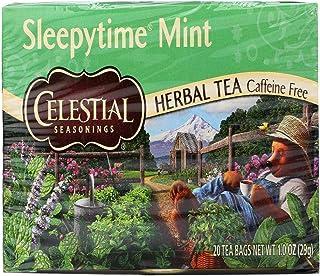 Celestial Seasonings Tea Sleepy time Mint 20 Bag, 20 ct