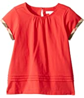 Burberry Kids - Gisselle Pleated Tee (Little Kids/Big Kids)
