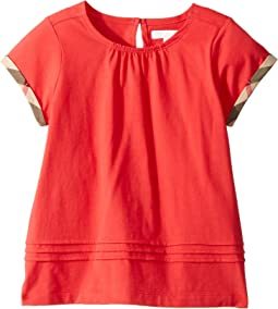 Gisselle Pleated Tee (Little Kids/Big Kids)