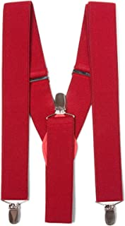 Gravity Threads Classic 1.3 Inch Wide Clip Suspenders
