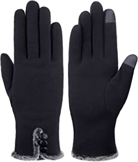 Women's NEW Screentouch Thick Warmer Weather Gloves