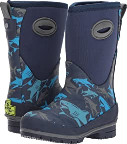 Western Chief Kids - Shark Attack Neoprene Boots (Toddler/Little Kid/Big Kid)