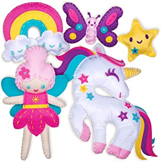 Sewing Kit for Kids - Unicorn Wonderland Learn to Sew Magical Projects - Beginner Sewing Kit for Girls 7 8 9 10 11 12 yrs...