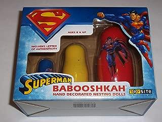 Toy Site DC Comics Babooshkah Hand Decorated Superman Nesting Dolls