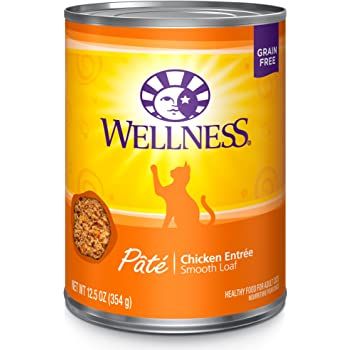 Wellness Complete Health Pate Grain Free Canned Wet Cat Food