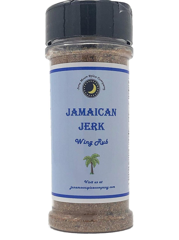 Premium Jamaican Jerk Chicken Wing Challenge the lowest price S Large Rub Dry Popular overseas Seasoning