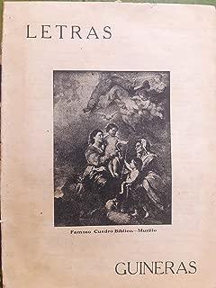 Letras guineras revista bimensual ilustrada guines cuba marzo 31 de 1925 numero 10