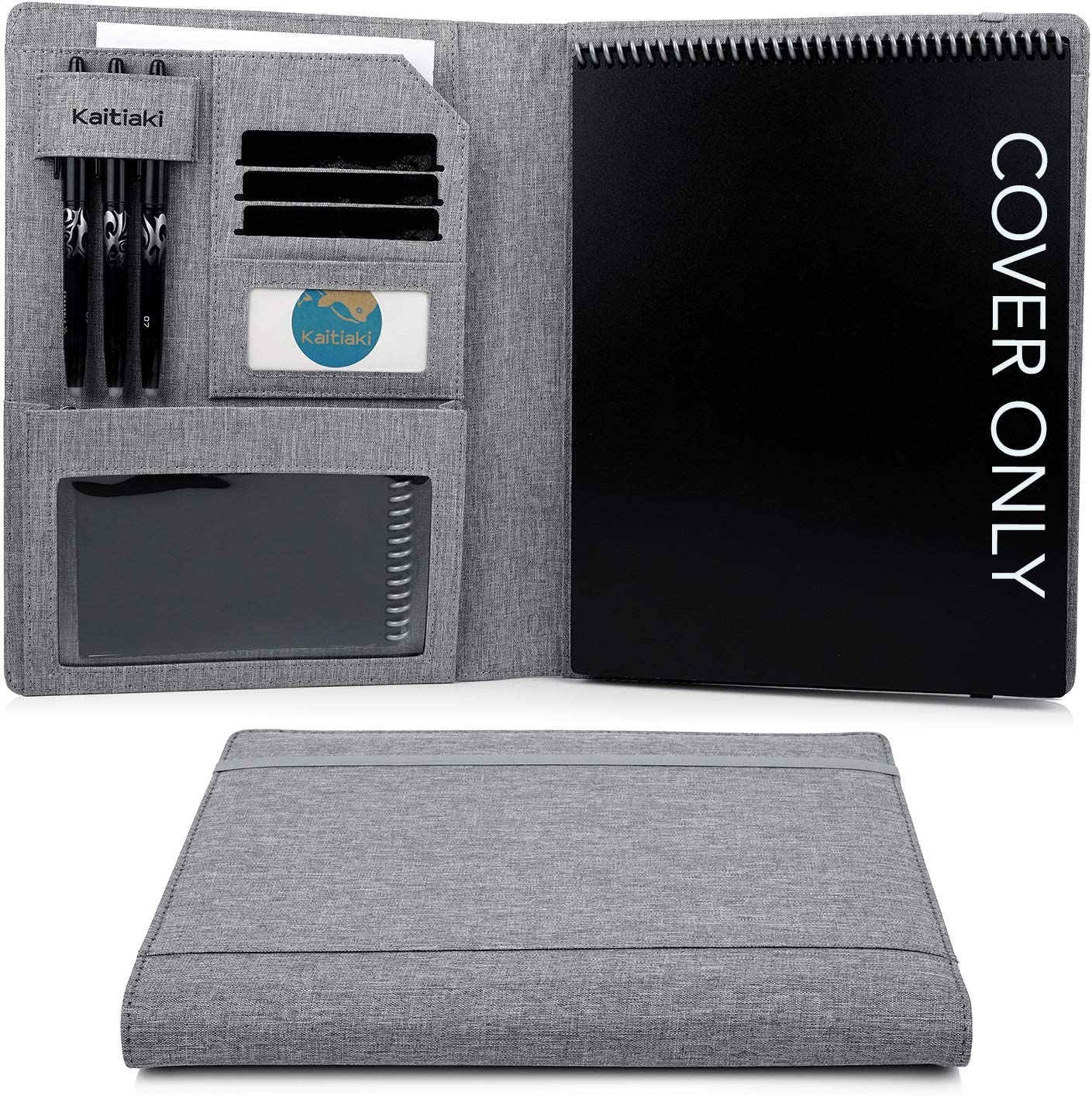 Award Kaitiaki Folio Cover Compatible Organized Rocketbook Year-end annual account with Flip