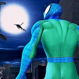 Super Spider Hero Rescue 3D: Save The City Terror Attack