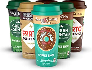 Coffee Shot Starter Pack (multi-brand) - Variety Pack, Ready-to-Drink on the go, High Energy Cold Brew Coffee - Fast Coffee Energy Boost, 6 Pack - coolthings.us