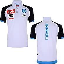 2018-2019 Napoli Cotton Polo Football Soccer T-Shirt Jersey (Grey)