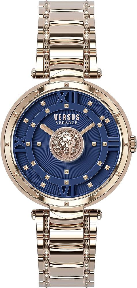 Versus versace moscova orologio da donna in acciaio inossidabile VSPHH0920