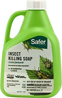 Woodstream Safer Brand 5118 Insect Killing Soap - 16-Ounce Concentrate