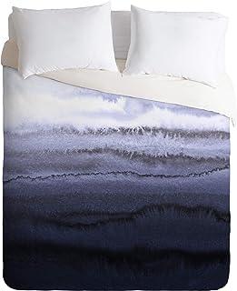 Society6 58002-dvwseq Monika Strigel Within The Tides Full/Queen Duvet cover and 2 Pillow Shams Set, blue