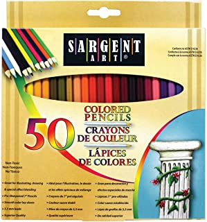 Sargent Art Premium Coloring Pencils, Pack of 50 Assorted...