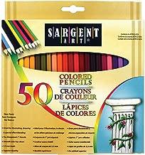 Sargent Art Premium Coloring Pencils, Pack of 50 Assorted Colors, 22-7251