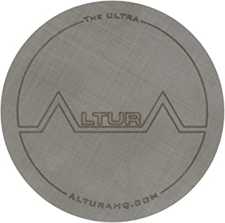 The ULTRA, Metal Filter for AeroPress Coffee Maker. Reusable AeroPress Filter Made from Stainless Steel Fabric