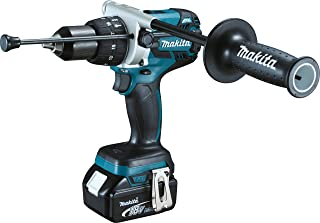 Makita DHP481RTJ 18V Li-Ion LXT Brushless Combi Drill Complete with 2 x 5.0 Ah Li-Ion Batteries and Charger Supplied in A ...