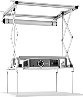 celexon Projector Ceiling Lift PL400 HC Plus - 120V   Motorized Ceiling Lift for projectors   Load up to 66lbs